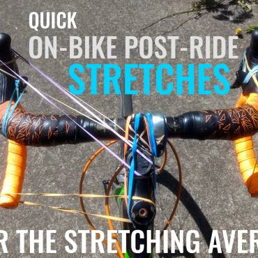 Quick On-Bike Post-Ride Stretches for the Stretching Averse